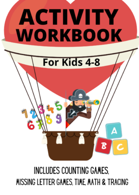 Book Cover: Activity Workbook for Kids 4-8