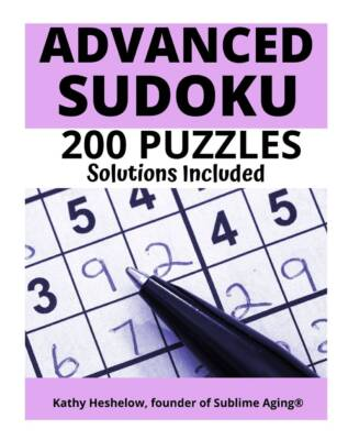 Book Cover: 200 Advanced SUDOKU Puzzles - with Solutions
