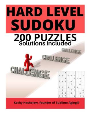 Book Cover: 200 Hard Level SUDOKU - with Solutions