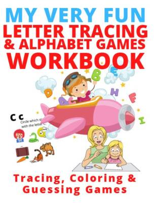 Book Cover: My Very Fun Tracing & Alphabet Games Workbook