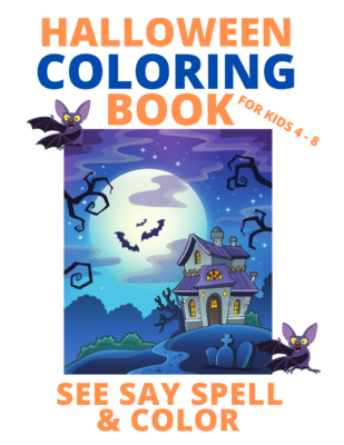 Book Cover: SEE SAY SPELL AND COLOR: HALLOWEEN Edition
