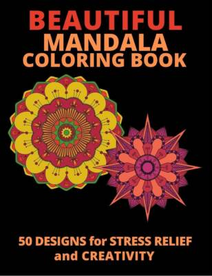 Book Cover: Beautiful Mandalas Coloring Book