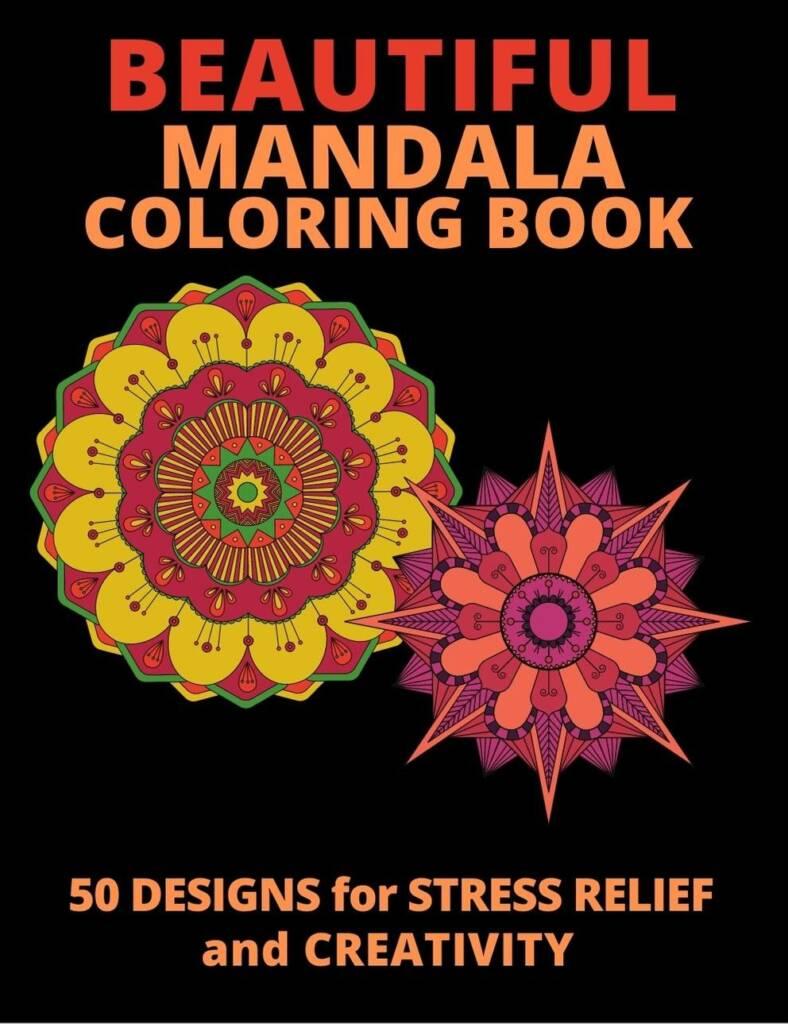 Book Cover: Beautiful Mandalas Coloring Book